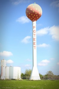 Poteet, Tx water tower